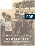 CHAA 2017 Fall Newsletter