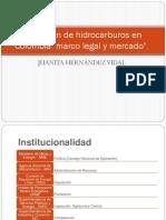 Regimen de Hidrocarburos en Colombia