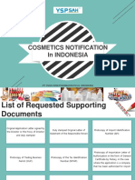 Presentation Cosmetic Notification in indonesia