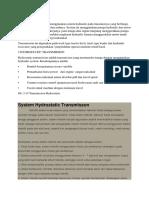 Hydrostatic Transmission