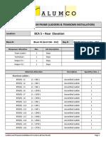Phase 2 - Ladder and Transom Installation - BLOCK 55 (REAR )