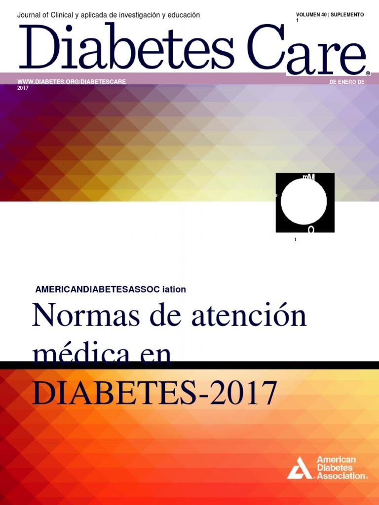 Estándares de Atención en Diabetes 2017, ADA.en.Es