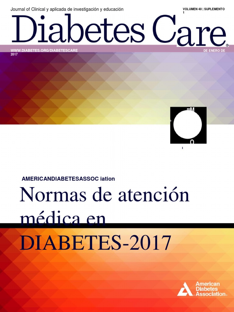 Estándares de Atención en Diabetes 2017, ADA.en.Es   Diabetes mellitus    Diabetes Mellitus Tipo 2