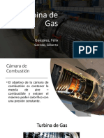 Presentacion Turbina de Gas