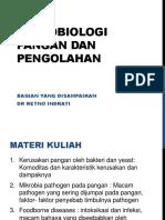 1 Kerusakan Pangan Oleh Bakteri Dan Yeast (230215 Sd S Cerevisiae)