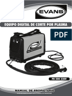 Mp Soldadora PD500220V Evans