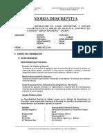 Memoria Descriptiva Losa Vilalaca