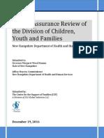 SLI Global Solutions, LLC, New Hampshire Children Family Service Review 2017