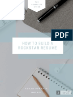 How to Build a Resume