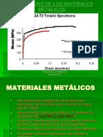 PROPIEDADES DE MATERIALES METÁLICOS