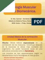 Fisiologia Muscular en La Biomecanica.modificado