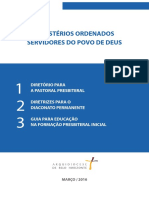 Ministérios Ordenados_ Servidores Do Povo de Deus