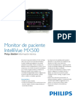 Monitor de Signos Vitales Philips Mx500