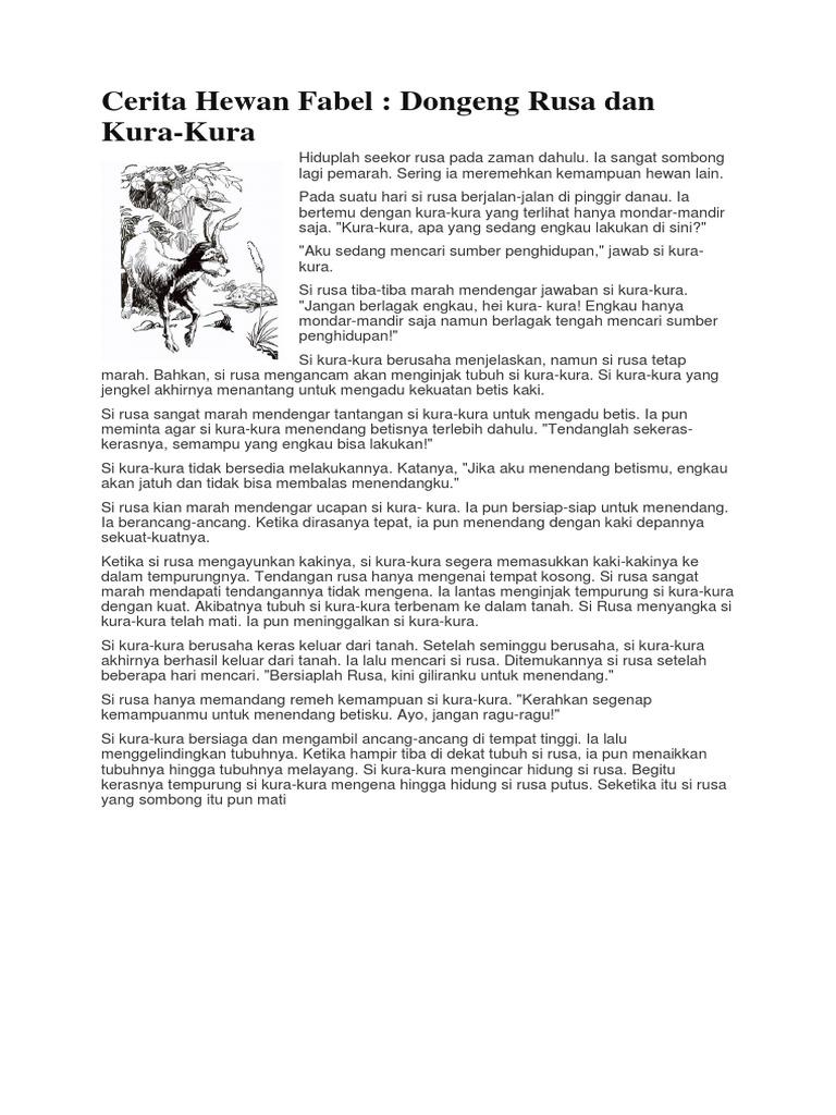 Cerita Dongen Fabel Parabel Sage Mite Legenda