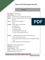 Program Intervensi LINUS Bahasa Inggeris Tahun 1&2 2016