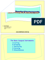 Major Basic Instrument Set