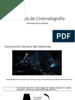 Propuesta de Cinematografía