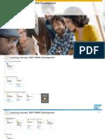 Learning Journey SAP HANA Development