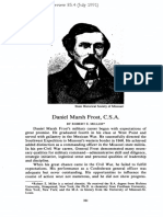 Daniel Marsh Frost, CSA [Missouri Historical Review 85.4 (July 1991)]