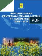 RUPTL 2009-2018