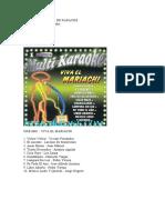 Libreta de Discos de Karaoke