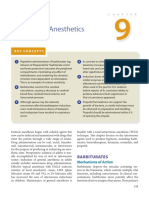 9 Intravenous Anesthetics