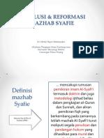 Revolusi & Reformasi Mazhab Syafie