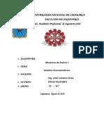 Infome Clasificacion SUCS y AASHTO