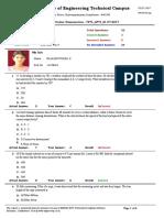 Test Question Paper 22
