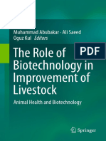 [Libro]the Role of Biotechnology in Improvement of Livestock Animal Health and Biotechnology-Muhammad Abubakar, Ali Saeed, O