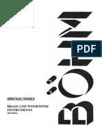 Bohm Catalog