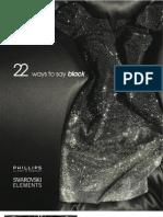 "Swarovski Elements Presents ""22 Ways to Say Black"""