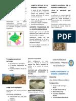 caracteristicas de la region lambayeque