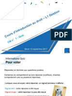 Intro au droit - CM1 - Evaluation formative.ppt