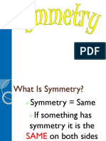 symmetry area and perimeter