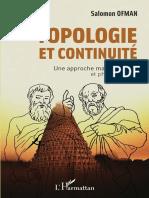 Topologie Et Continuité, Une Approche Mathématique Et Philosophique