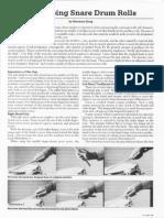 Developing Snare Drum Rolls - PN8307.49-52