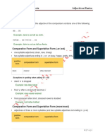 Adjectives Theory Basic