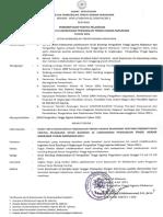 Sk Pembentukan Panitia Pelaksana Studi Banding Di Lingkungan Pta Makassar Tahun 2011