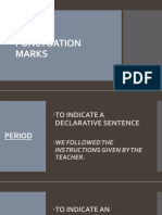 Punctuation Marks and Capitalization