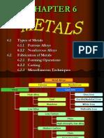 Chapter 6 Metal