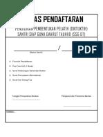 Berkas Pendaftaran DIKTUKTIH