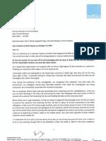 IndiGo Letter - 081117