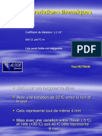 07. Pathologie Des Constructions - Les Variations Thermiques