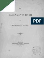 Ojea y Somoza El Parlamentarismo
