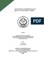Pengaruh Neoplatonismr Dalam Wahdatul Wujud Ibnu 'Arabi-9851