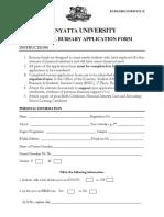 Bursary Application Form (1)