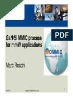OMMIC GaN Process
