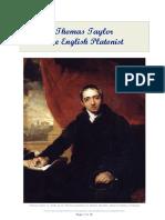 Thomas Taylor, The English Platonist