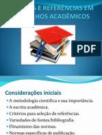 Citações e Referencias Em Trabalhos Academicos
